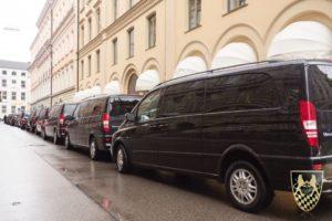 Muenchner Sicherheitskonferenz MSC 2015 mit Van Chauffeurservice Munich