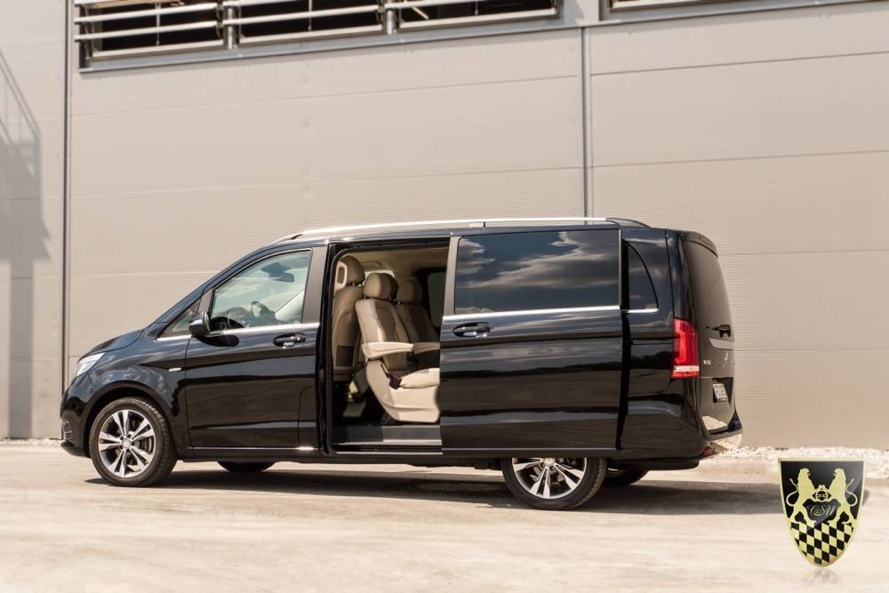 Business Van mit Chauffeur