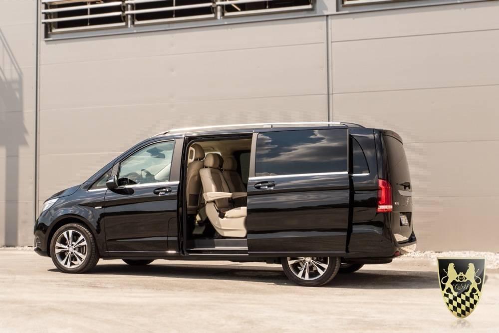 Business Van mit Chauffeur
