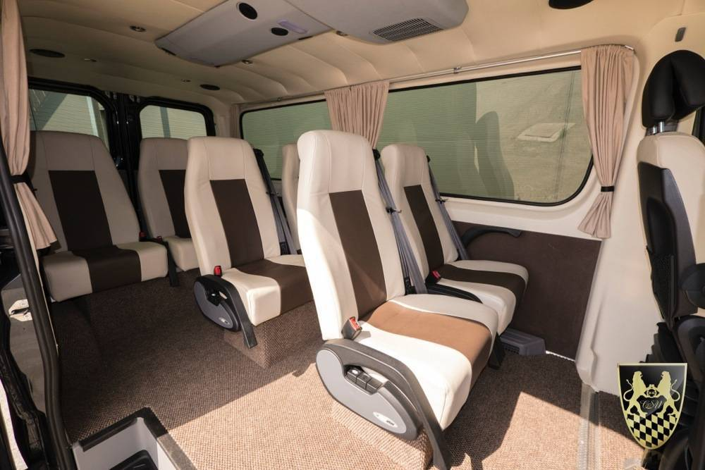 minibus f r bis zu 7 personen vom chauffeurservice. Black Bedroom Furniture Sets. Home Design Ideas