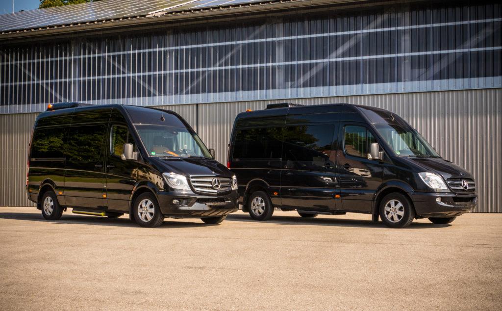 minibus f r bis zu 7 personen mieten in m nchen mit chauffeur. Black Bedroom Furniture Sets. Home Design Ideas