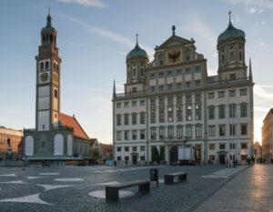 München nach Augsburg